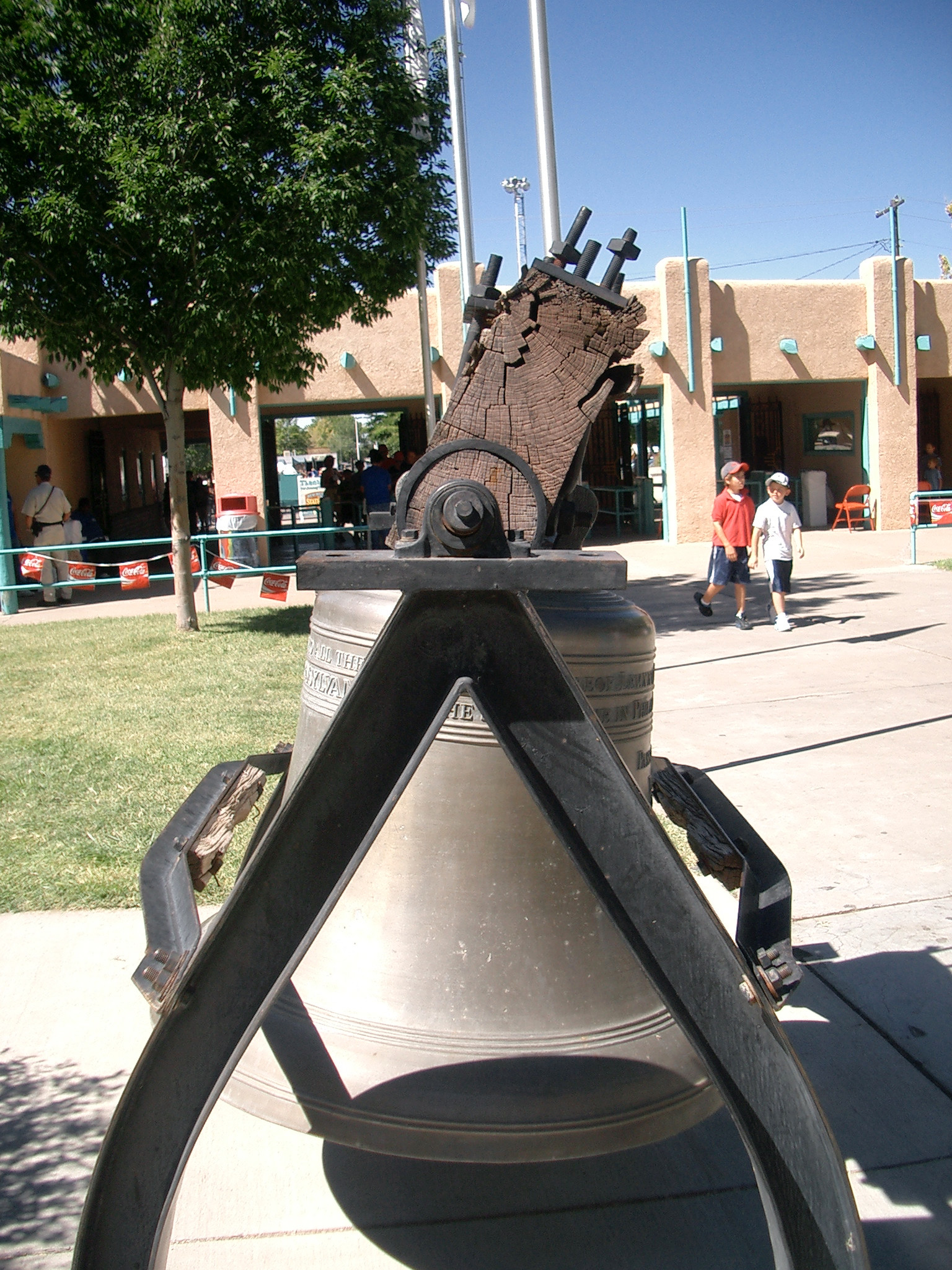 New Mexico Liberty Bell replica