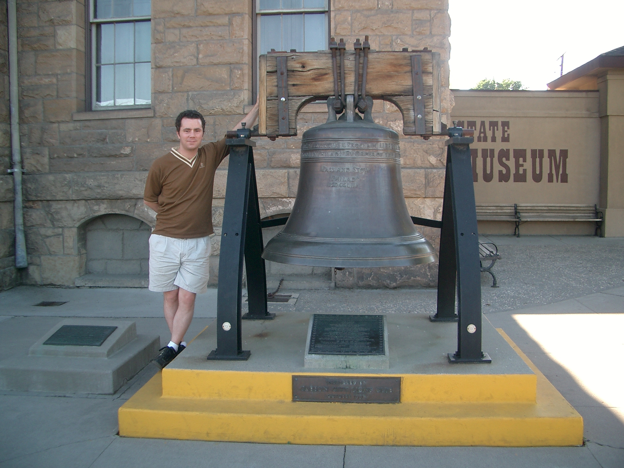 Nevada Liberty Bell replica