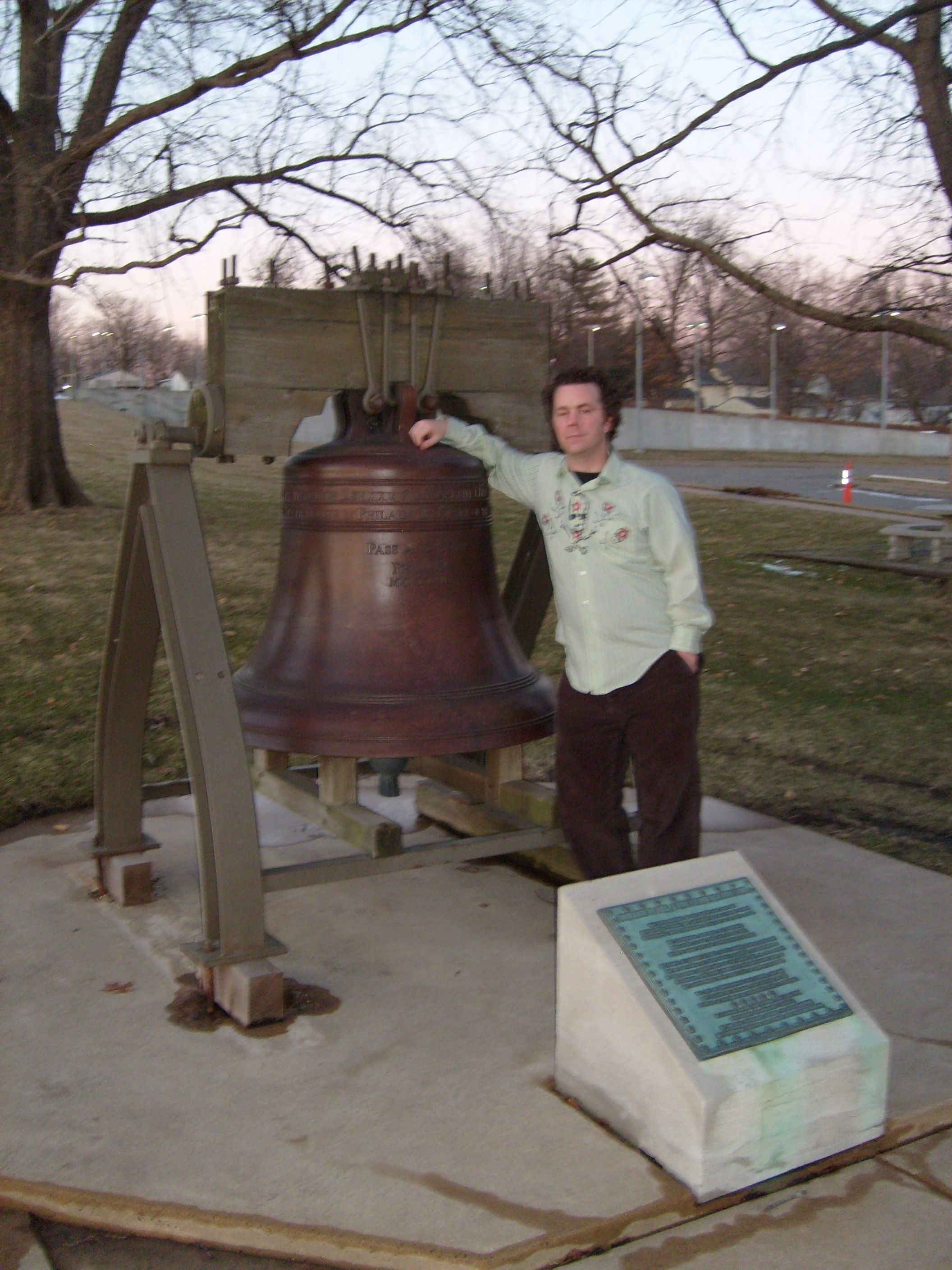 Truman Library Liberty Bell replica — Independence, Missouri