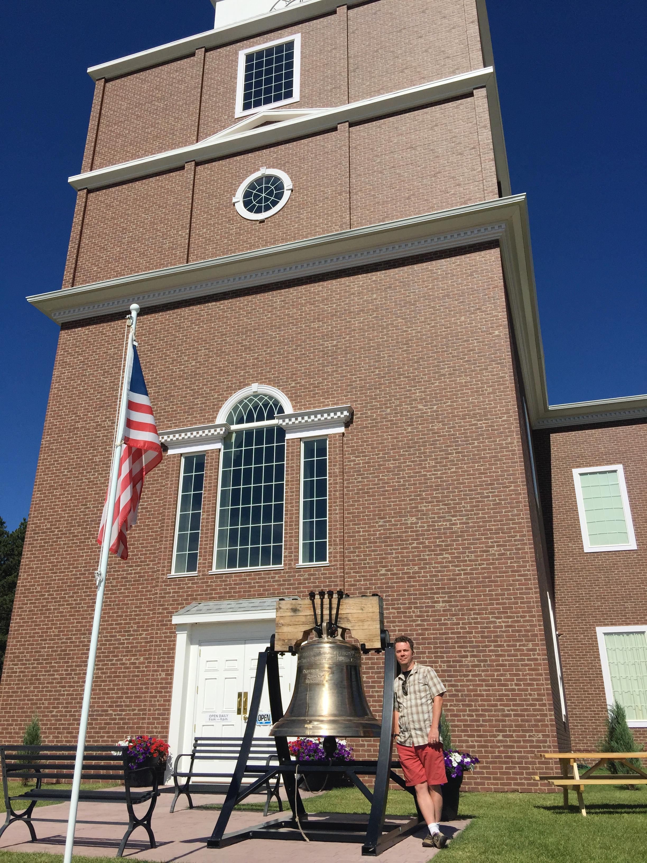 Other Liberty Bell replicas, Rapid City South Dakota