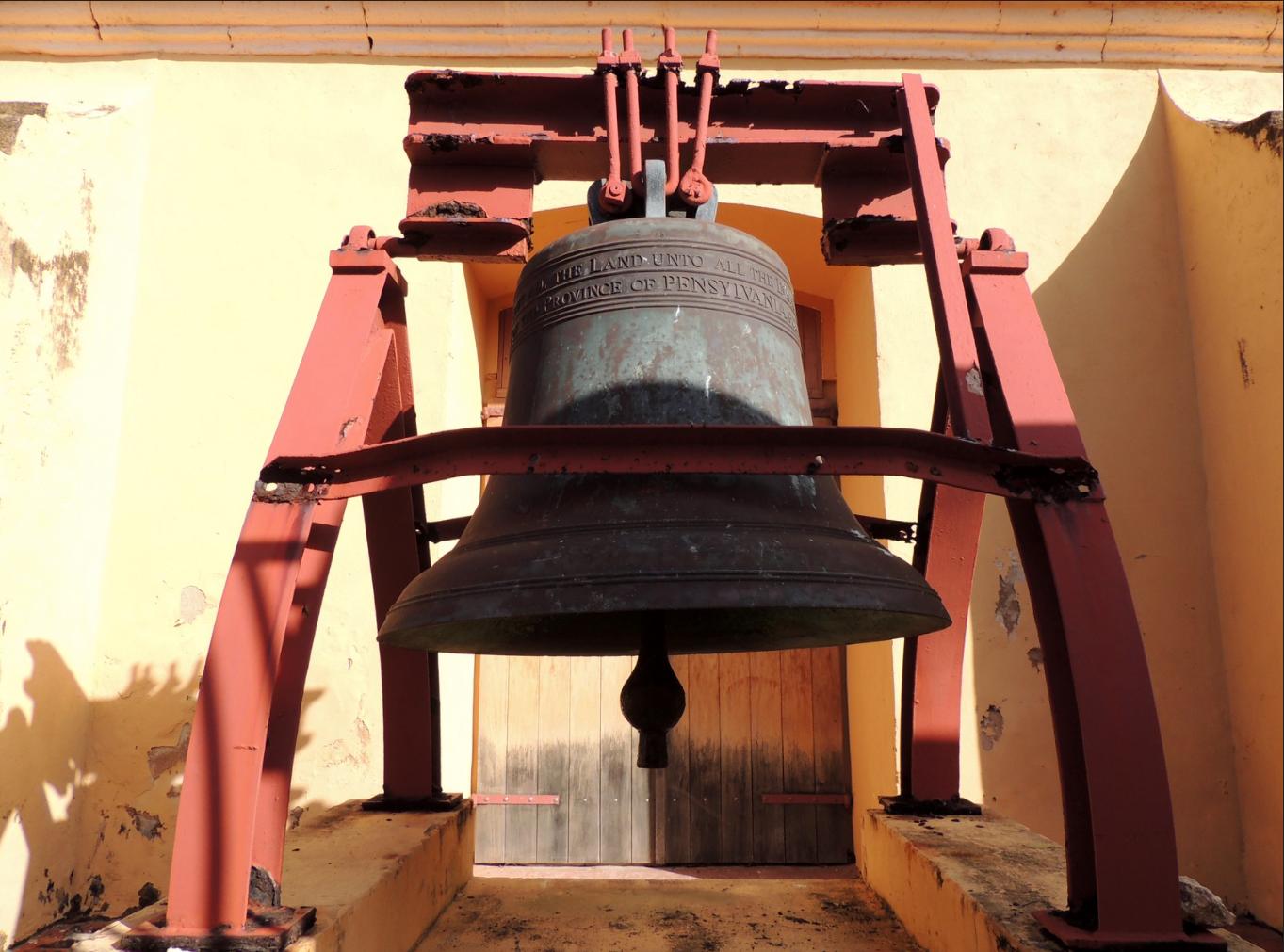 Puerto Rico Liberty Bell replica