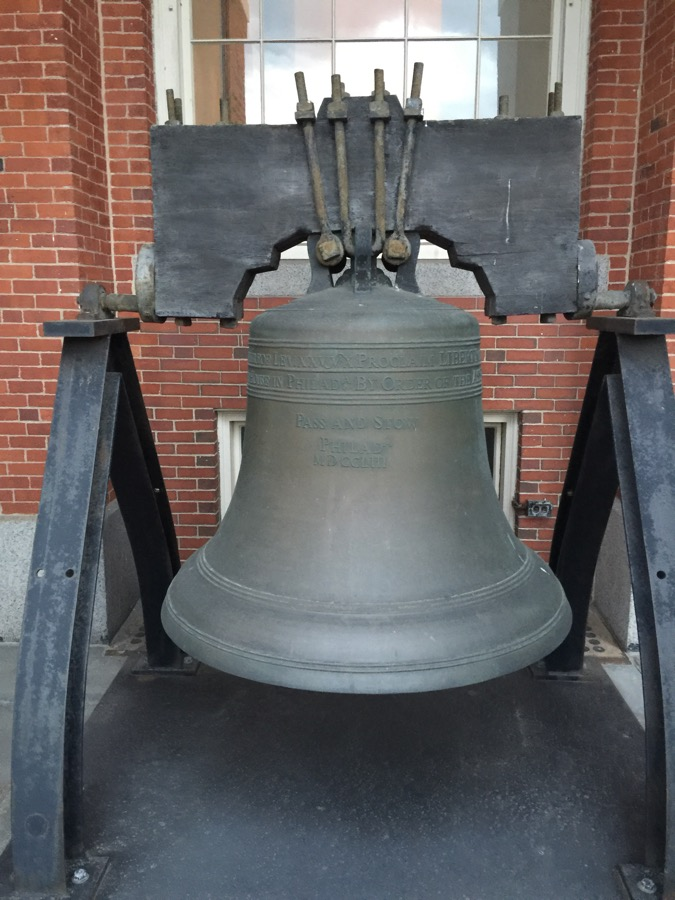Massachusetts Liberty Bell replica