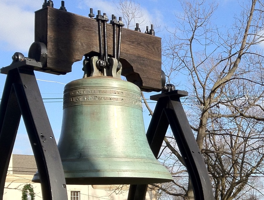 New Jersey Liberty Bell replica
