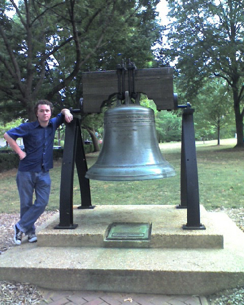 Maryland Liberty Bell replica