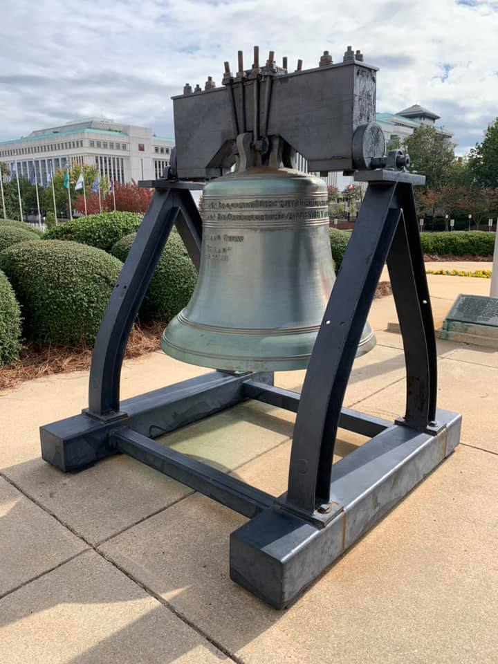 Alabama Liberty Bell replica